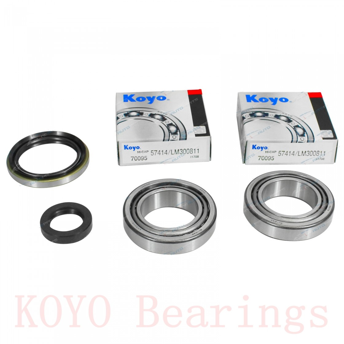 90 mm x 140 mm x 24 mm  KOYO HAR018 angular contact ball bearings