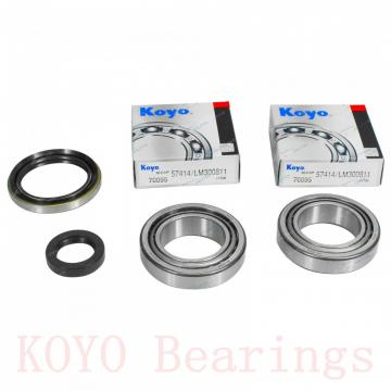 85 mm x 120 mm x 23 mm  KOYO 32917JR tapered roller bearings