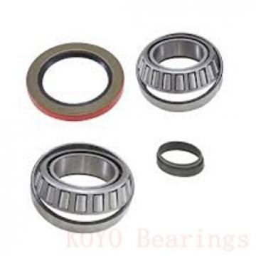 7 mm x 22 mm x 7 mm  KOYO NC727V deep groove ball bearings