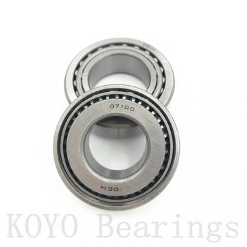 127 mm x 165,1 mm x 19,05 mm  KOYO KFX050 angular contact ball bearings